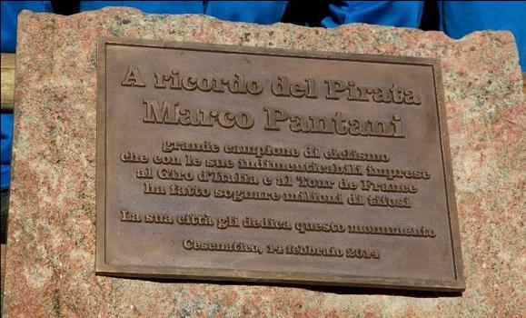 Targa monumento di Cesenatico