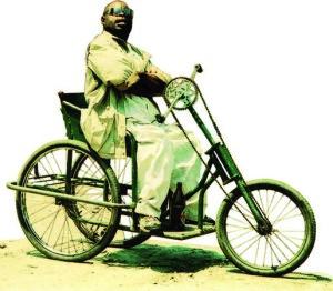 Benda Bilili! handbike