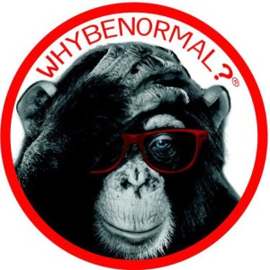 why be normal logo